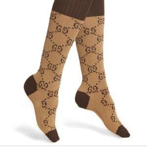 Accessories - Brown Canvas Socks